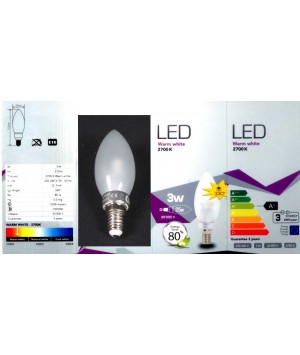 AMPOULE LED NOUVELLE GENERATION E14