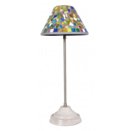 Lamp ocher mosaic