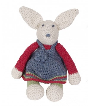 KIT CROCHET LAPIN