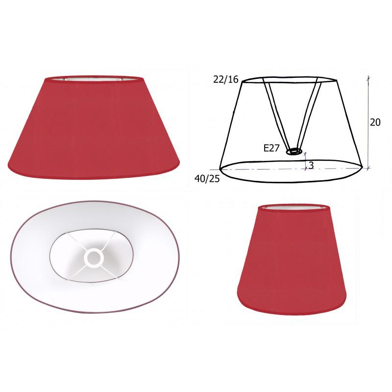 abat jour ovale 8 tailles d co int rieur belles couleurs design belge. Black Bedroom Furniture Sets. Home Design Ideas