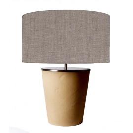 LAMPE A POSER EN CUIR VERITABLE