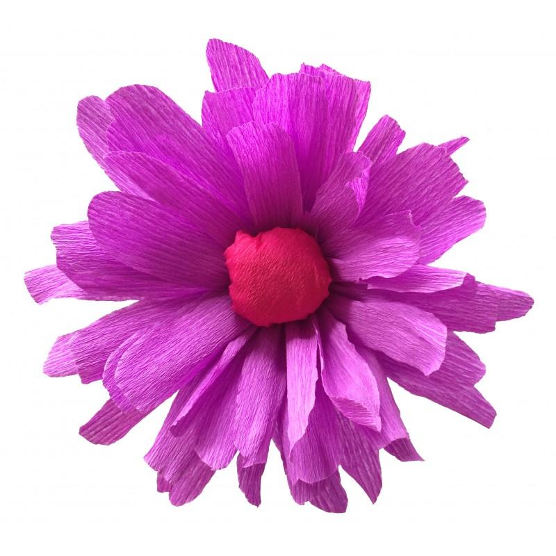 Fleurs fleurs en papier kit a faire soi m me do it yourself loisir cr atif cr pon - Faire fleur en papier ...