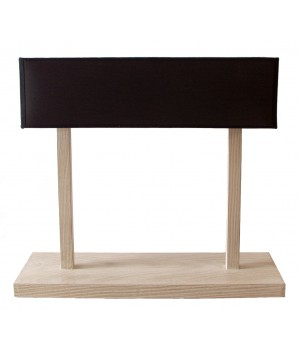 Table lamp in wood design