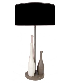 LAMPE DE CHEVET DECOR QUILLES