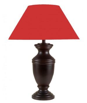 LAMP WOOD MANGO MAHOGANY PATINE