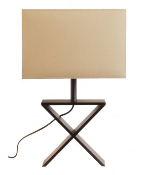 LAMPE DE TABLE X WENGE