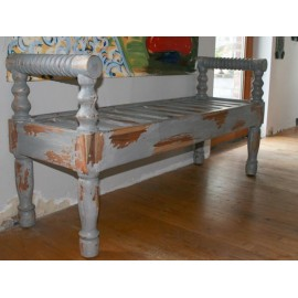 BENCH PATINATED