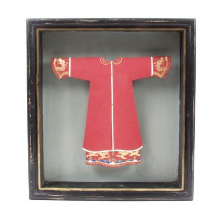 Cadre tunique rouge